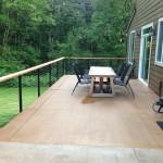 aluminum cable railing